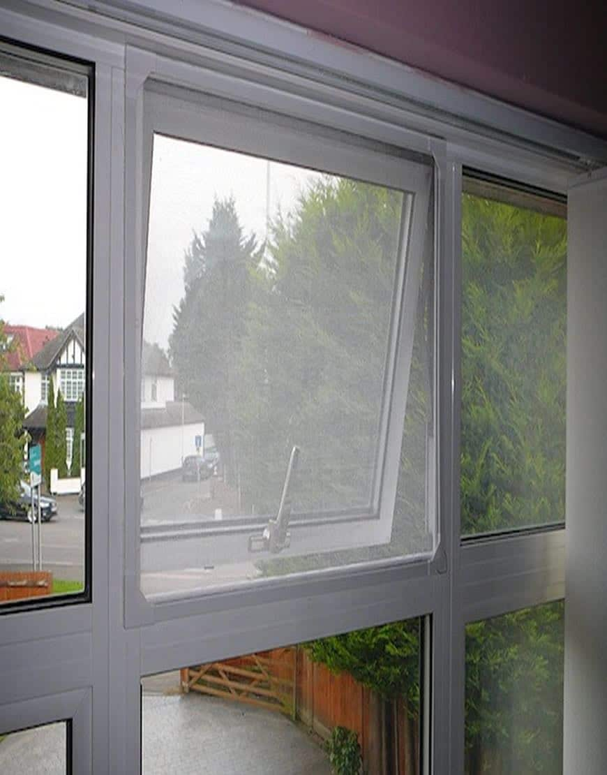 * Magnetic Fly Screen - Simple To Install DIY Flyscreen ...