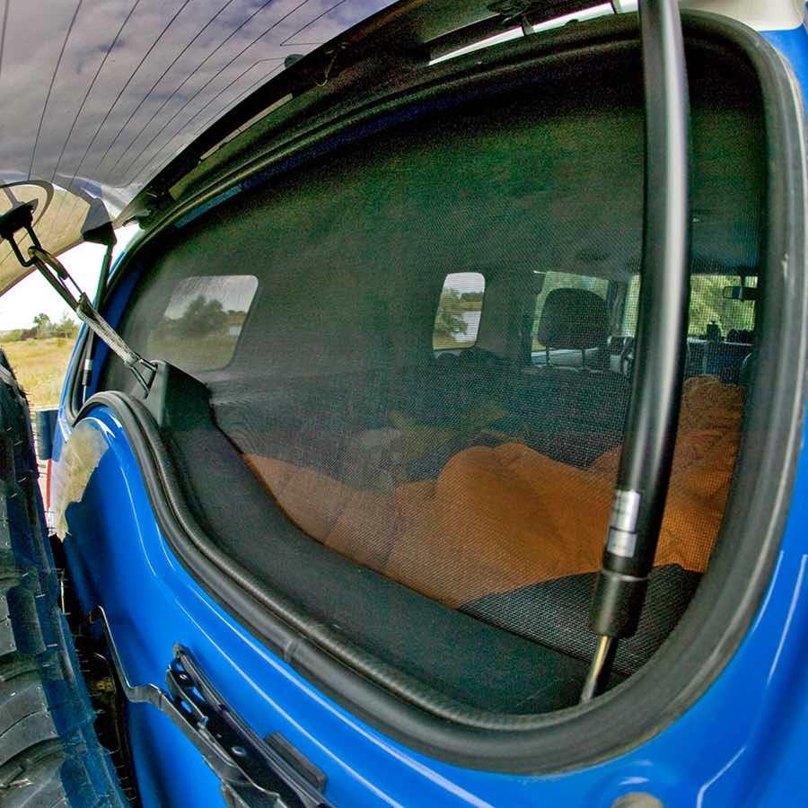 diy window screen for -van car 4wd