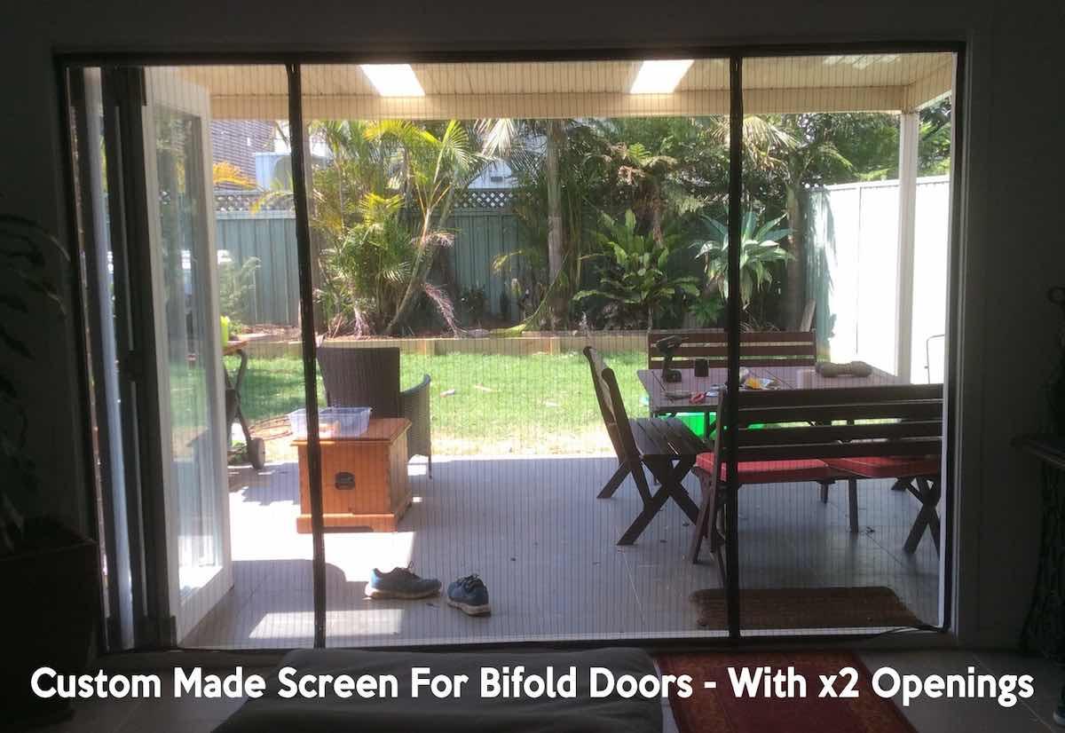what screen door fits bifold door